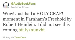 farnham's freehold tweet audiobook review