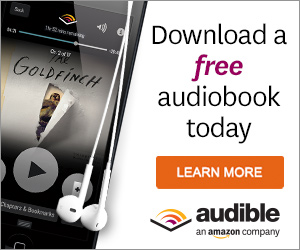 Get a free audiobook with an Audible free trial
